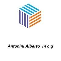 Antonini Alberto  m c g