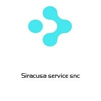 Siracusa service snc