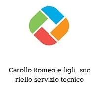 Carollo Romeo e figli  snc riello servizio tecnico