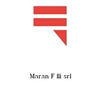 Maran F lli srl