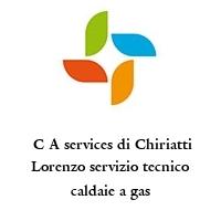 C A services di Chiriatti Lorenzo servizio tecnico caldaie a gas