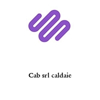 Cab srl caldaie