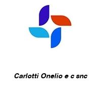 Carlotti Onelio e c snc