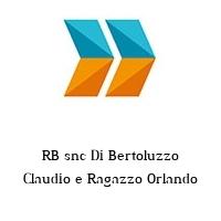 RB snc Di Bertoluzzo Claudio e Ragazzo Orlando