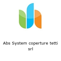 Abs System coperture tetti srl