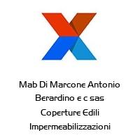 Mab Di Marcone Antonio Berardino e c sas Coperture Edili Impermeabilizzazioni