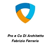 Pro e Co Di Architetto Fabrizio Ferraris