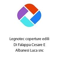 Legnotec coperture edili Di Falappa Cesare E Albanesi Luca snc