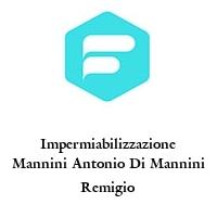 Impermiabilizzazione Mannini Antonio Di Mannini Remigio