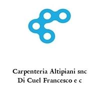 Carpenteria Altipiani snc Di Cuel Francesco e c