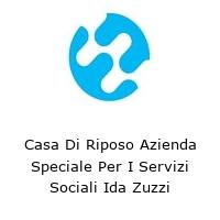 Casa Di Riposo Azienda Speciale Per I Servizi Sociali Ida Zuzzi