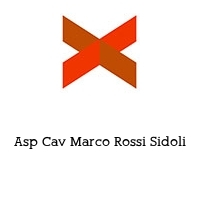 Asp Cav Marco Rossi Sidoli