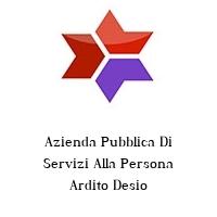 Azienda Pubblica Di Servizi Alla Persona Ardito Desio