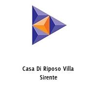 Casa Di Riposo Villa Sirente