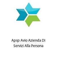 Apsp Avio Azienda Di Servizi Alla Persona