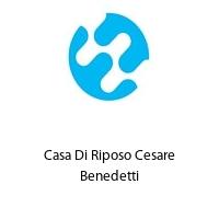 Casa Di Riposo Cesare Benedetti