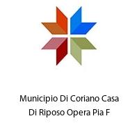 Municipio Di Coriano Casa Di Riposo Opera Pia F