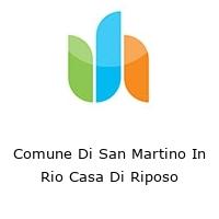 Comune Di San Martino In Rio Casa Di Riposo