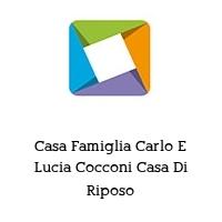 Casa Famiglia Carlo E Lucia Cocconi Casa Di Riposo