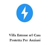 Villa Estense srl Casa Protetta Per Anziani
