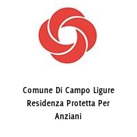 Comune Di Campo Ligure Residenza Protetta Per Anziani