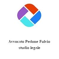 Avvocato Pedone Fulvio studio legale
