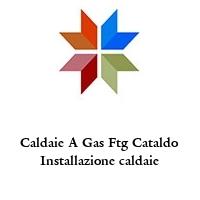 Caldaie A Gas Ftg Cataldo Installazione caldaie