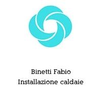 Binetti Fabio Installazione caldaie