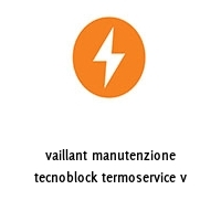 vaillant manutenzione tecnoblock termoservice v