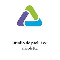 studio de paoli avv nicoletta