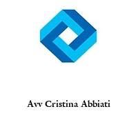 Avv Cristina Abbiati