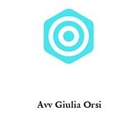 Avv Giulia Orsi