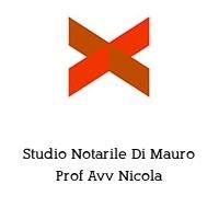 Studio Notarile Di Mauro Prof Avv Nicola