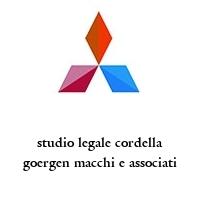 studio legale cordella goergen macchi e associati