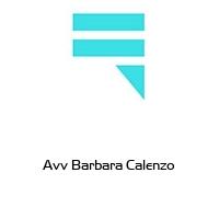 Avv Barbara Calenzo