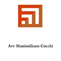 Avv Massimiliano Cocchi