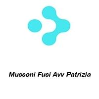 Mussoni Fusi Avv Patrizia