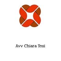 Avv Chiara Tosi