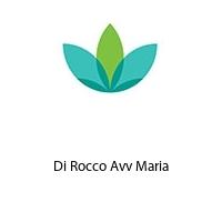 Di Rocco Avv Maria