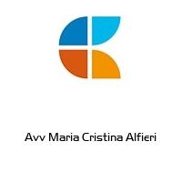 Avv Maria Cristina Alfieri