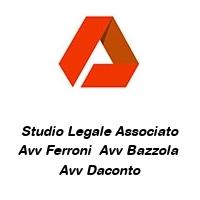 Studio Legale Associato Avv Ferroni  Avv Bazzola  Avv Daconto