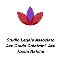 Studio Legale Associato Avv Guido Calatroni  Avv Nadia Baldini