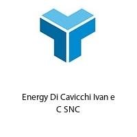 Energy Di Cavicchi Ivan e C SNC