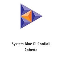 System Blue Di Cordioli Roberto