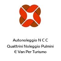 Autonoleggio N C C Quattrini Noleggio Pulmini E Van Per Turismo