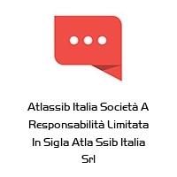Atlassib Italia Società A Responsabilità Limitata In Sigla Atla Ssib Italia Srl