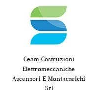 Ceam Costruzioni Elettromeccaniche Ascensori E Montacarichi Srl