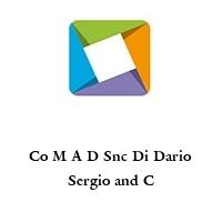 Co M A D Snc Di Dario Sergio and C