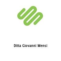 Ditta Giovanni Mensi