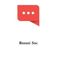 Busani Snc